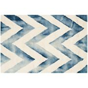 Safavieh Chevron Dip-Dyed Wool Rug