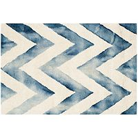 Safavieh Chevron Dip-Dyed Wool Rug