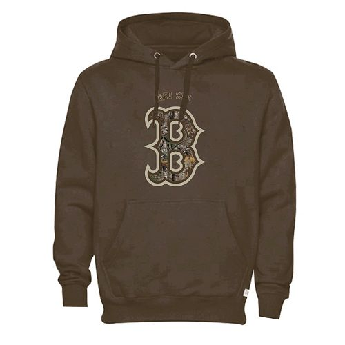 Men's Boston Red Sox Realtree Camo Logo Hoodie