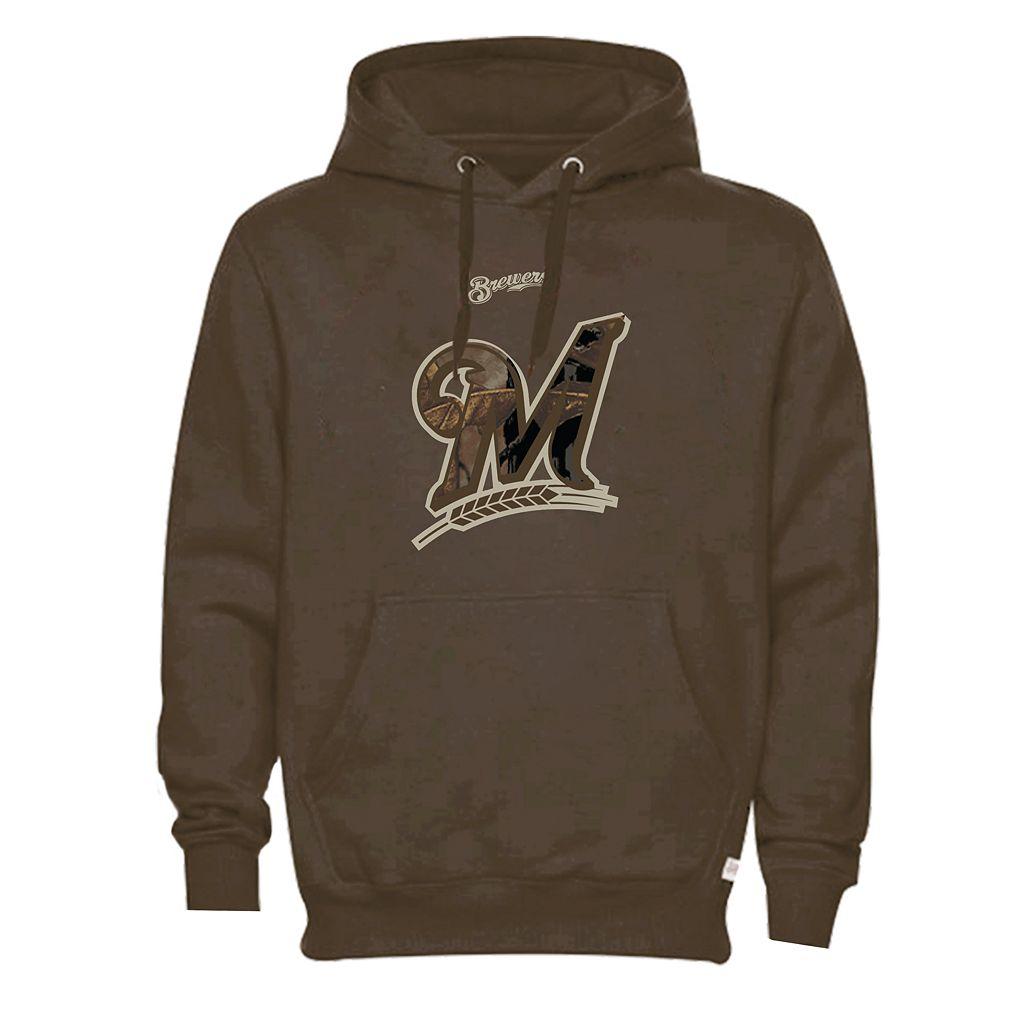 Men's Milwaukee Brewers Realtree Camo Logo Hoodie