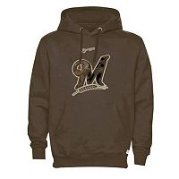 Men's Milwaukee Brewers Realtree Camo Logo Hoodie