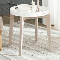 Safavieh Ben Lacquer Tray End Table