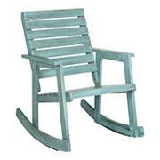 Safavieh Alexei Indoor Outdoor Rocking Chair