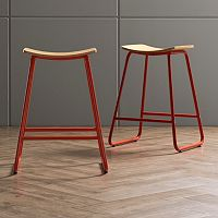 Apt. 9® Saddle Stool 2 pc Set