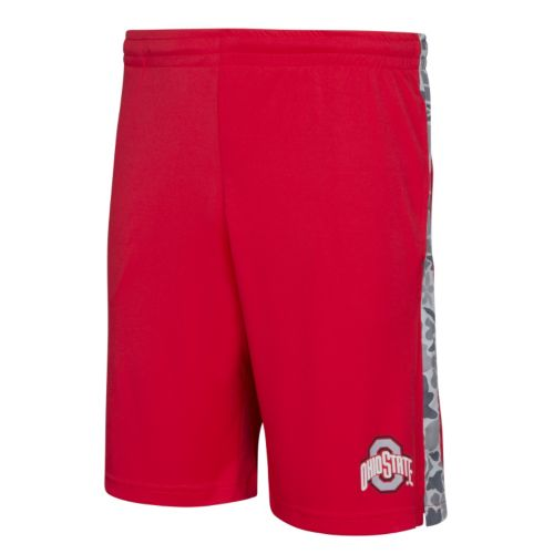 Men's Ohio State Buckeyes Keystone Camo Panel Shorts
