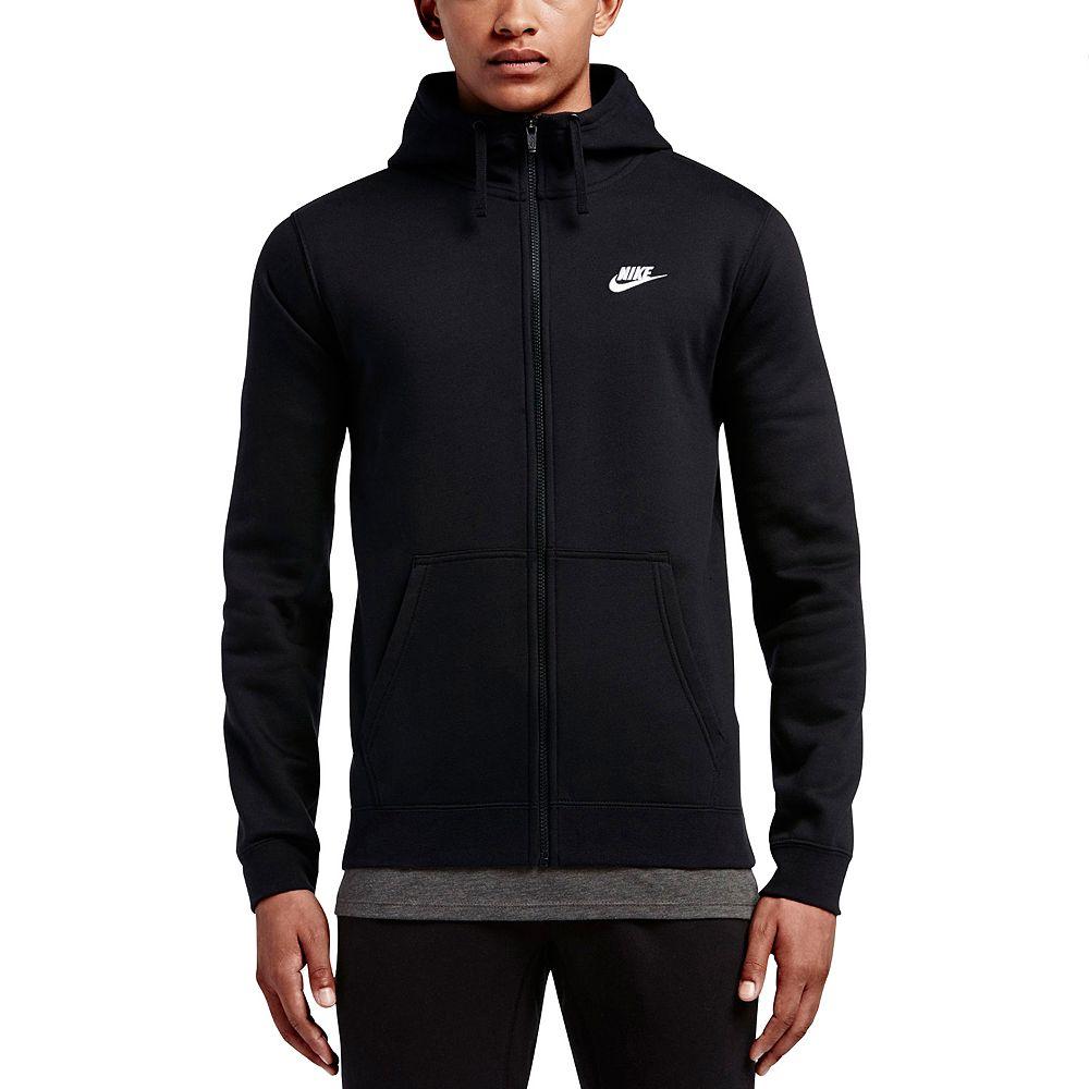 Men's Nike Club Fleece Full Zip Hoodie