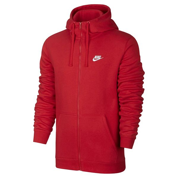 Men's Nike Club Fleece Full-Zip Hoodie