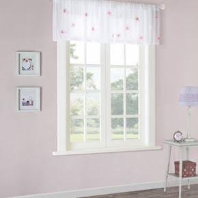 Mi Zone Lily Sheer Window Valance - 52'' x 18''