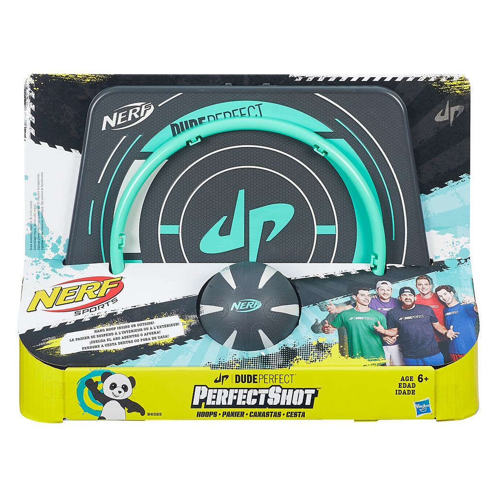 Nerf Perfect Shot Dude Perfect Hoops Set