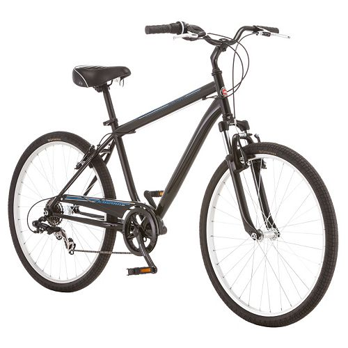 Men's Schwinn 26-in  Suburban Black Bike