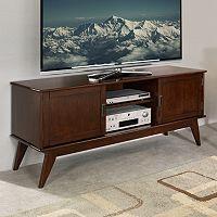 Simpli Home Draper Mid-Century TV Stand