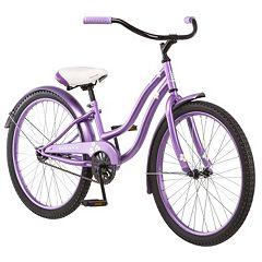 Girls Kulana 24 in Purple Cruiser Bike
