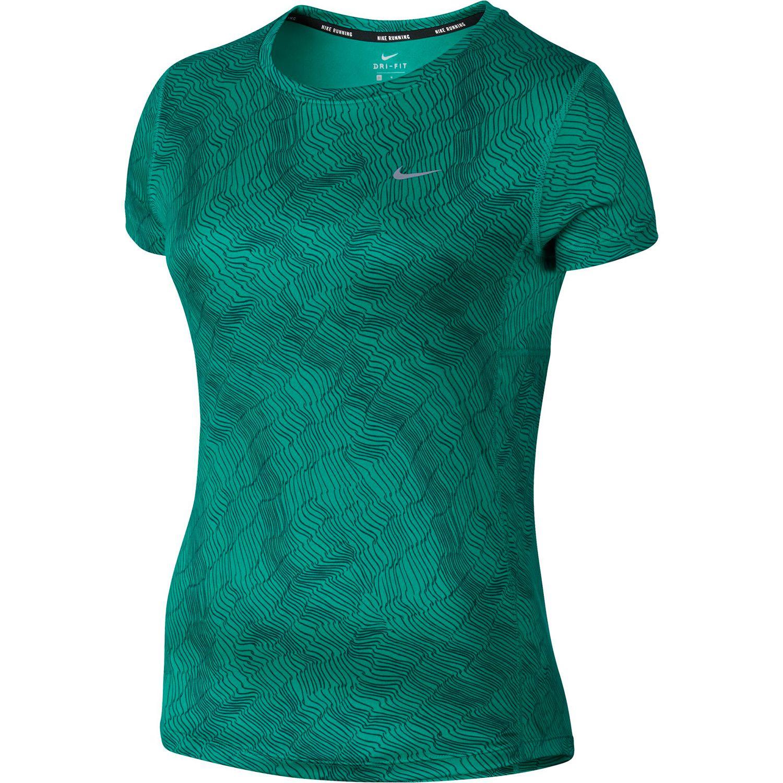 Womens Nike Dry Miler Running Tee