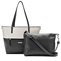 Stone & Co. Leather 2-in-1 Tote