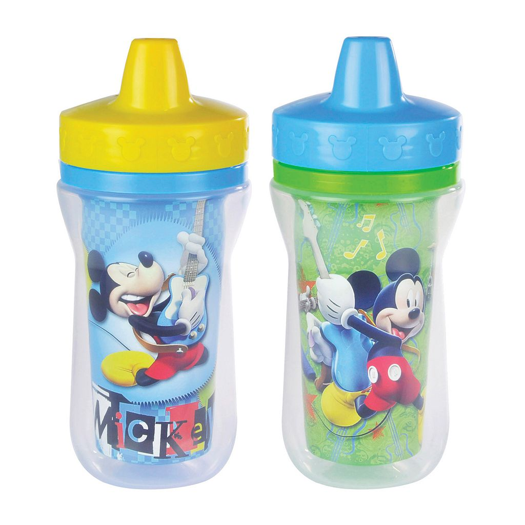 Disney Mickey Mouse & Friends 2-pk. Insulated Sippy Cups by The First Years