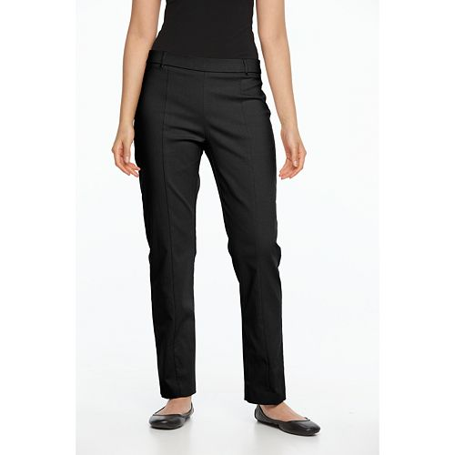 Women's Napa Valley Slimming Solution Straight-Leg Dress Pants