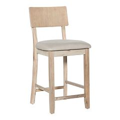 Jordan Gray & Brown Wash Counter Stool