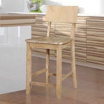 Jordan Natural Counter Stool
