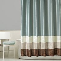 Home Classics® Shalimar Colorblock Shower Curtain