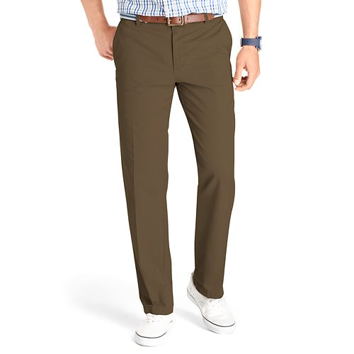 512898166edb5c Men's IZOD Slim-Fit Flat-Front Saltwater Chino Pants