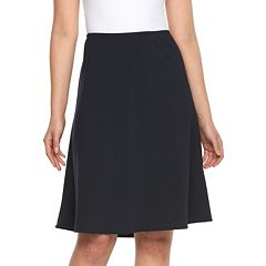 Women's Briggs Comfort Waistband A-Line Skirt