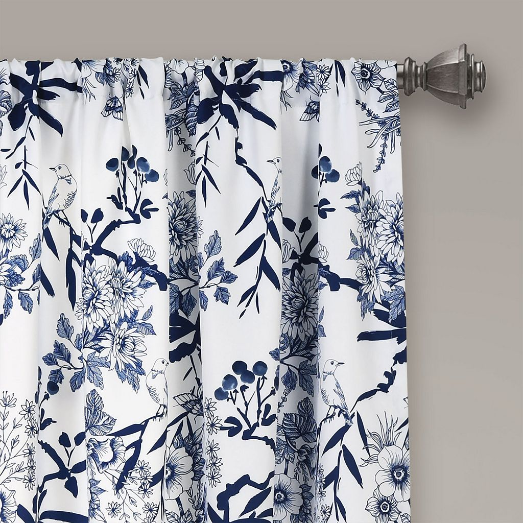 Lush Decor Botanical Garden Window Curtain Set - 52'' x 84''