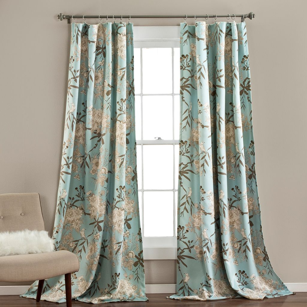 Lush Decor 2-pack Botanical Garden Curtains - 52'' x 84''