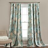 Lush Decor 2-pack Botanical Garden Window Curtains