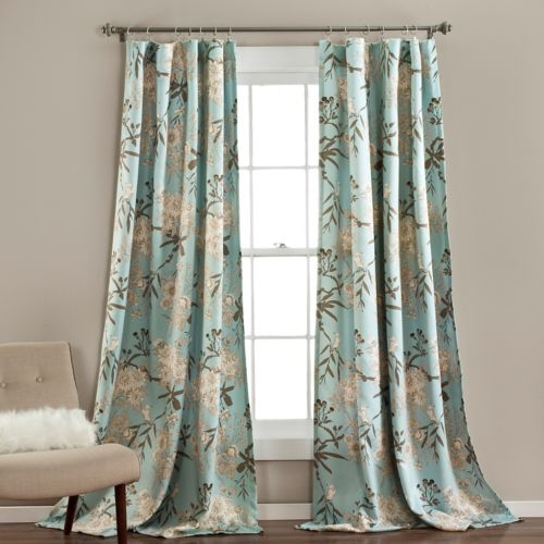 Lush Decor 2-pack Botanical Garden Curtains - 52'' x 84''