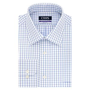 Men's Chaps Regular-Fit Elite Performance Ultimate No-Iron Stretch Spread-Collar Dress Shirt