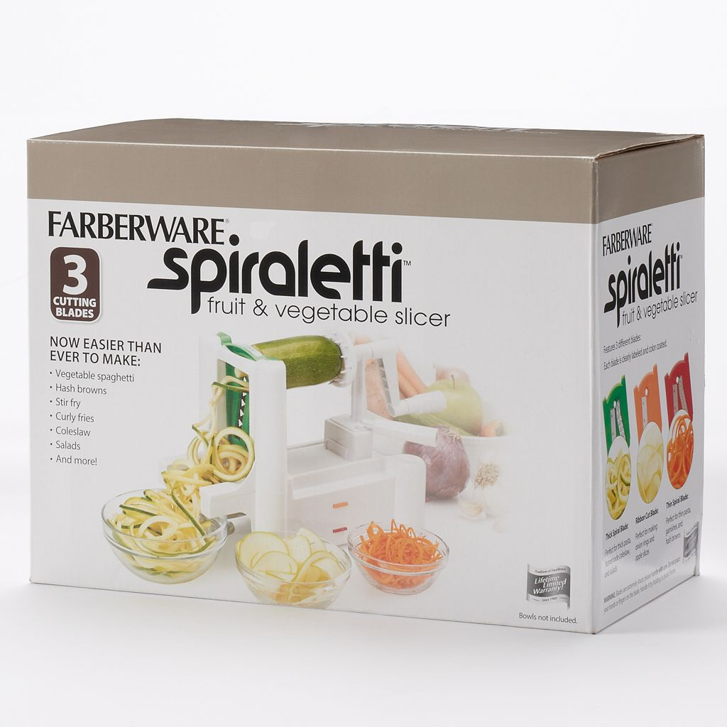 Farberware Classic Spiraletti® Fruit & Vegetable Slicer