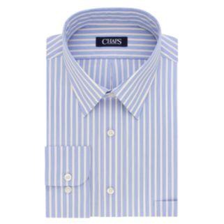 Men's Chaps Regular-Fit Wrinkle-Free Stretch-Collar Dress Shirt