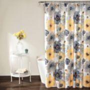 Lush Decor Leah Shower Curtain