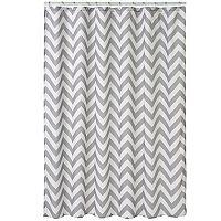 Home Classics® Chevron Fabric Shower Curtain
