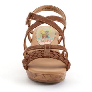 Rachel Shoes Boca Girls' Wedge Sandals