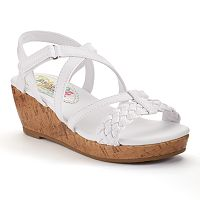 Rachel Shoes Boca Girls' Wedge Sandals