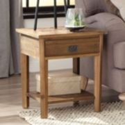 Alaterre Revive Reclaimed Wood End Table