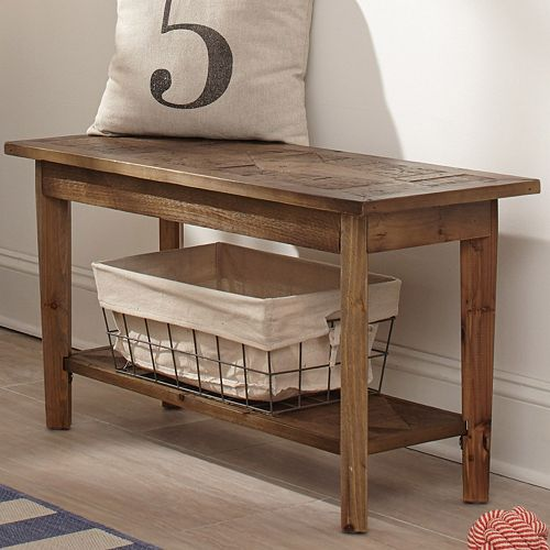 Alaterre Revive Reclaimed Wood Bench