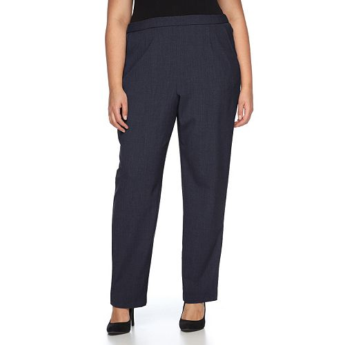 8c83a784bbce5 Plus Size Briggs Pull-On Straight-Leg Pants
