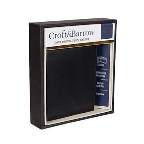 Men's Croft & Barrow® RFID-Blocking Plonge Slimfold Wallet