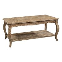 Alaterre Rustic Reclaimed Wood Coffee Table