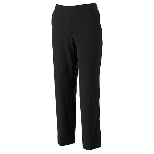 Petite Briggs Pull-On Dress Pants