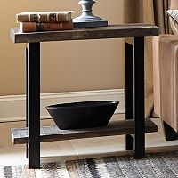 Alaterre Pomona Rustic End Table