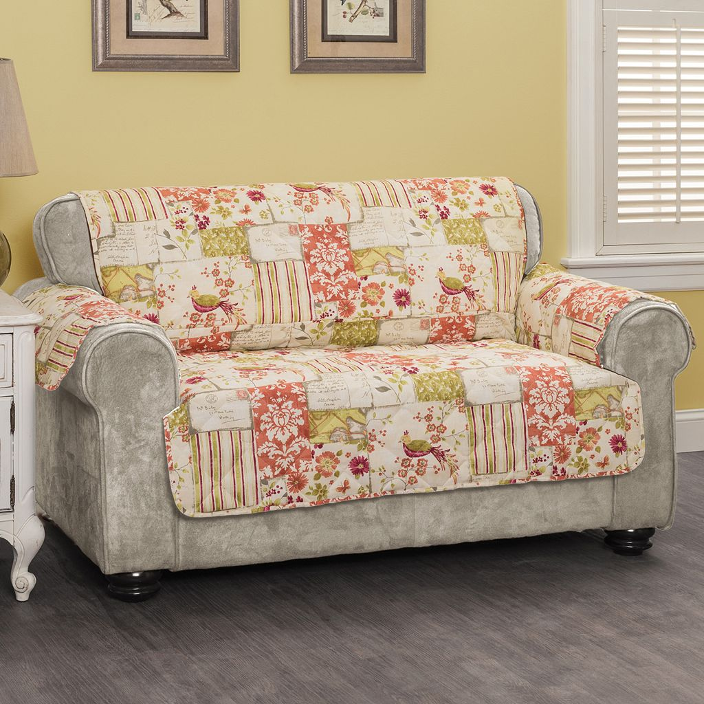 Innovative Textile Solutions Patchwork Loveseat Protector