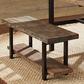 Alaterre Pomona Rustic Bench