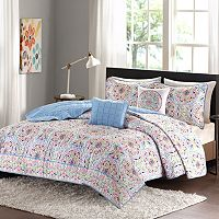 Intelligent Design Hayley Coverlet Set