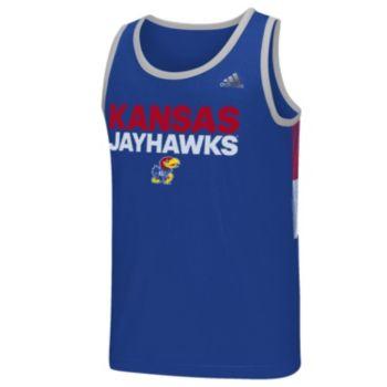 Men's adidas Kansas Jayhawks Campus Performance Tank Top