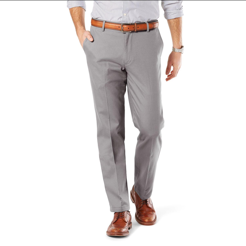 Gray Khaki Pants