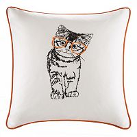 HipStyle Artemis Cat Square Throw Pillow
