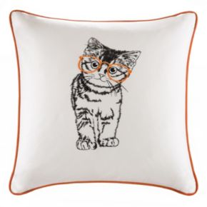 HipStyle Artemis Cat Square Throw Pillow